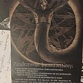 Behemoth - Pandemonic Incantations Flyer 1998 Vox Mortis Other Collectable