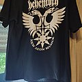 Behemoth - Clash of Demigods European tour T Shirt 2004