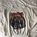 Judas Priest 1986 white sweatshirt