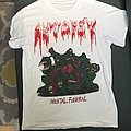 Autopsy Mental Funeral white bootleg shirt