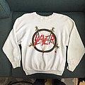 Slayer 1986 white sweatshirt