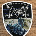 Mayhem - Patch - Grand Declaration of War