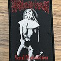 Cradle Of Filth - Patch - Vestal Masturbation