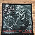 Sadus - Patch - Swallowed in Black (black glitter)