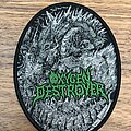 Oxygen Destroyer - Patch - Bestial Manifestations of Malevolence and Death
