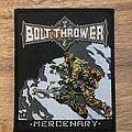 Bolt Thrower - Patch - Mercenary