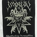 Impiety - Patch - Impiety - Skullfucking Armageddon backpatch