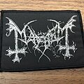 Mayhem - Patch - Mayhem silver logo