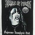 Cradle Of Filth - Patch - Cradle of Filth - Supreme Vampyric Evil backpatch