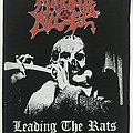 Morbid Angel - Patch - Morbid Angel - Leading The Rats 1991 backpatch