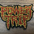 Power Trip - Patch - Power Trip official embroidered logo patch