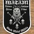 Watain - Patch - Division Balticum Black Metal Militia