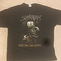 Suffocation Infecting The Crypts (1991) Original T-Shirt XL