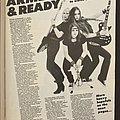 Rock Goddess - Kerrang Nov. 1981 Other Collectable
