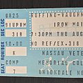 Iron Maiden - Other Collectable - Iron Maiden 1983 concert ticket