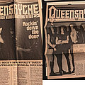 Early Queensryche memorabilia