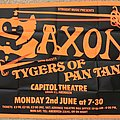 Saxon - Other Collectable - Saxon/Tygers of Pan Tang poster