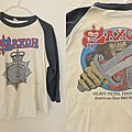 Saxon tour shirt 1982