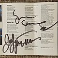Yngwie Malmsteen Odyssey cassette tape with signatures from Joe Lynn Turner and Yngwie from 1988. Tape / Vinyl / CD / Recording etc