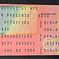 Raven Metallica Anthrax - Other Collectable - Raven Metallica Anthrax tour 1984