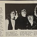 Savatage when they were Avatar from Heavy Metal Times magazine May 1983