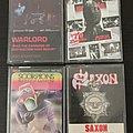 Scorpions - Tape / Vinyl / CD / Recording etc - Scorpions, Warlord, Saxon, NWOBHM cassette tapes