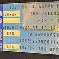 Manowar - Other Collectable - Manowar 1983 concert ticket