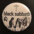 Black Sabbath - Pin / Badge - Black Sabbath pin from 1970s