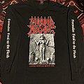 Morbid Angel FFTTF 1998 Tour LS TShirt or Longsleeve