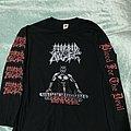 Morbid Angel Morbid Tour LS TShirt or Longsleeve