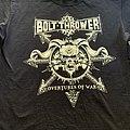 Bolt Thrower Overtures of War TS  TShirt or Longsleeve