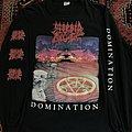 Morbid Angel- Domination LS TShirt or Longsleeve