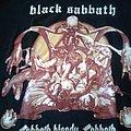 Black Sabbath Bloody shirt XL