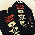 Heads for the dead t-shirt,longsleeve,pins,patches