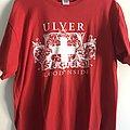 Ulver - Blood inside red t-shirt XL