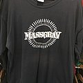 Massgrav - Bullet ring Blue L TShirt or Longsleeve