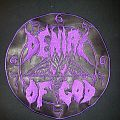 "Denial of God ""Leather Logo"" Backpatch"