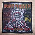 """Patch - Iron Maiden """"A real dead one"""" patch original"""