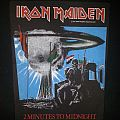 "Iron Maiden ""Two Minutes to Midnight"" Backpatch"