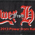 "Power from Hell ""The True Metal"" stripe Patch"