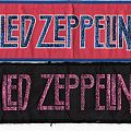Led Zeppelin stripe patches