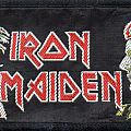 "Iron Maiden ""Woman in Uniform"" patch"