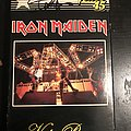 Iron Maiden - Video Pieces vhs signed by Steve Harris Tape / Vinyl / CD / Recording etc