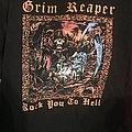 Grim Reaper - TShirt or Longsleeve - Grim Reaper - Rock You To Hell shirt