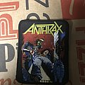 Anthrax - Spreading The Disease patch