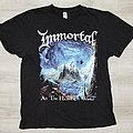 "Immortal ""At The Heart Of Winter"" t-shirt"