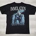 Immolation 2010 tour t-shirt