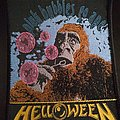 Helloween Pink bubbles go ape patch