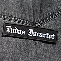 JUDAS ISCARIOT - Logo 110x28 mm (embroidered) Patch
