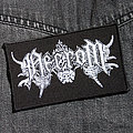 NECROM - Logo 110X70 mm (embroidered) Patch